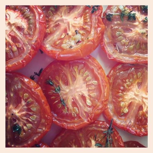 Organic Grilled Tomatoes